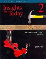 Reading for Today (3rd Edition) 2 - Insights - Student's Book ISBN: 9781111056544