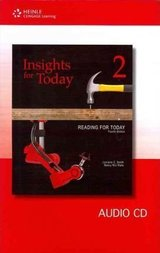 Reading for Today (3rd Edition) 2 - Insights - Audio CD ISBN: 9781111056551