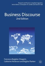 Business Discourse (2nd Edition) ISBN: 9781137024923