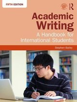 Academic Writing; A Handbook for International Students (5th Edition) ISBN: 9781138048744