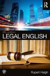 Legal English (5th Edition) ISBN: 9781138094710