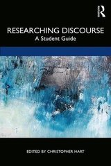 Researching Discourse: A Student Guide ISBN: 9781138551084