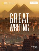 Great Writing - Foundations (4th Edition) Student Book with Online Workbook Access Code ISBN: 9781285750767