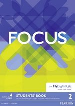 Focus 2 Pre-Intermediate Student's Book with MyEnglishLab ISBN: 9781292110059