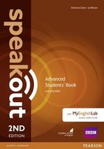 Speakout (2nd Edition) Advanced Coursebook with DVD-ROM & MyEnglishLab ISBN: 9781292115917