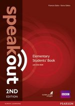 Speakout (2nd Edition) Elementary Coursebook with DVD-ROM ISBN: 9781292115924