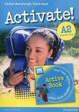 Activate! A2 Student's Book with ActiveBook CD-ROM ISBN: 9781292143057