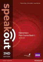 Speakout (2nd Edition) Elementary Flexi 1 (Split Edition: Coursebook & Workbook) ISBN: 9781292149295