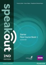 Speakout (2nd Edition) Starter Flexi 1 (Split Edition: Coursebook & Workbook) ISBN: 9781292149394