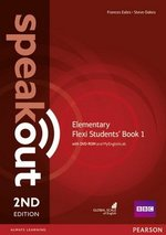 Speakout (2nd Edition) Elementary Flexi 1 (Split Edition: Coursebook & Workbook) with MyEnglishLab ISBN: 9781292160948
