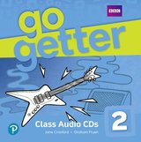 GoGetter 2 Class Audio CDs ISBN: 9781292179308