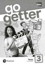 GoGetter 3 Test Book ISBN: 9781292179582