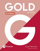 Gold (New Edition) B1 Preliminary Exam Maximiser without Answer Key ISBN: 9781292202358