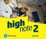High Note 2 Class Audio CDs ISBN: 9781292209371