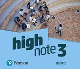 High Note 3 Class Audio CDs ISBN: 9781292209524