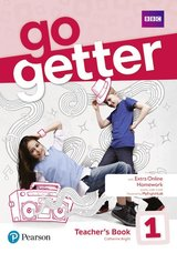 GoGetter 1 Teacher's Book with DVD-ROM & Access Code for MyEnglishLab & Extra Online Practice ISBN: 9781292209999