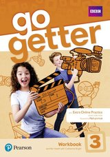 GoGetter 3 Workbook with Access Code for Extra Online Practice ISBN: 9781292210063