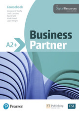 Business Partner A2+ Coursebook with Basic MyEnglishLab ISBN: 9781292233536