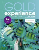 Gold Experience (2nd Edition) A2 Key for Schools Student's Book with Online Practice ISBN: 9781292237244