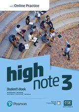 High Note 3 Student's Book with Standard Pearson Practice English App ISBN: 9781292300870