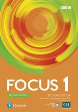 Focus (2nd Edition) 1 Student's Book with Basic Pearson Practice English App ISBN: 9781292301839