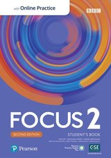 Focus (2nd Edition) 2 Student's Book with Standard Pearson Practice English App ISBN: 9781292301877