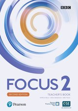 Focus (2nd Edition) 2 Teacher's Book with Pearson Practice English App ISBN: 9781292301884