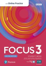 Focus (2nd Edition) 3 Student's Book with Standard Pearson Practice English App ISBN: 9781292301907
