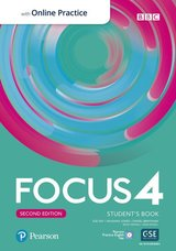 Focus (2nd Edition) 4 Student's Book with Standard Pearson Practice English App ISBN: 9781292301938