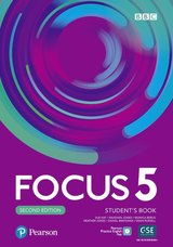 Focus (2nd Edition) 5 Student's Book with Basic Pearson Practice English App ISBN: 9781292301952
