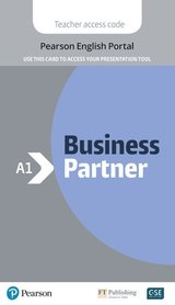 Business Partner A1 Presentation Tool (Internet Access Code Card) ISBN: 9781292328034