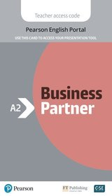 Business Partner A2+ Presentation Tool (Internet Access Code Card) ISBN: 9781292328041