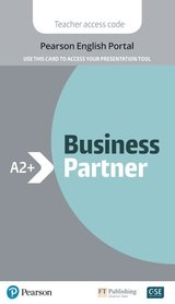 Business Partner A2+ Presentation Tool (Pearson English Portal Internet Access Card) ISBN: 9781292328058