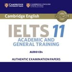 Cambridge English: IELTS 11 Academic & General Training Audio CDs (2) ISBN: 9781316503928