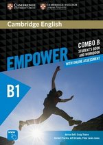 Cambridge English Empower Pre-Intermediate B1 Combo B (Split Edition) (Student's Book B & Workbook B with Online Assessment & Practice) ISBN: 9781316601259