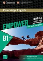 Cambridge English Empower Intermediate B1+ Combo A (Split Edition) (Student's Book A & Workbook A with Online Assessment & Practice) ISBN: 9781316601266