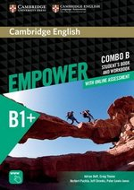 Cambridge English Empower Intermediate B1+ Combo B (Split Edition) (Student's Book B & Workbook B with Online Assessment & Practice) ISBN: 9781316601280