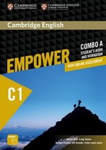 Cambridge English Empower Advanced C1 Combo A (Split Edition) (Student's Book A & Workbook A with Online Assessment & Practice) ISBN: 9781316601327