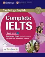 Complete IELTS Bands 5-6.5 Student's Book without Answers with CD-ROM & Testbank ISBN: 9781316602003