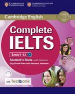 Complete IELTS Bands 5-6.5 Student's Book with Answers, CD-ROM & Testbank ISBN: 9781316602010