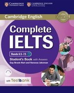 Complete IELTS Bands 6.5-7.5 Student's Book with Answers, CD-ROM & Testbank ISBN: 9781316602041
