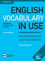 English Vocabulary in Use (4th Edition) Pre-intermediate and Intermediate Book with Answers & Enhanced eBook ISBN: 9781316628317