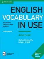English Vocabulary in Use (3rd Edition) Advanced Book with Answers & Enhanced eBook ISBN: 9781316630068