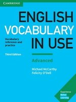 English Vocabulary in Use (3rd Edition) Advanced Book with Answers ISBN: 9781316631171