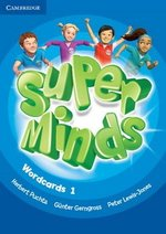 Super Minds 1 Wordcards (Pack of 90) ISBN: 9781316631614