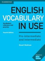 English Vocabulary in Use (4th Edition) Pre-intermediate and Intermediate Book with Answers ISBN: 9781316631713