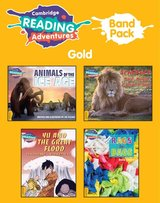Cambridge Reading Adventures: Band Pack - Gold (A2 / Elementary) ISBN: 9781316999271