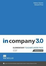 In Company 3.0 Elementary Teacher's Book Premium Plus Pack ISBN: 9781380000361
