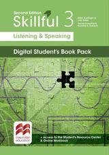 Skillful (2nd Edition) 3 (Upper Intermediate) Listening and Speaking Premium Digital Student's Book Pack (Internet Access Code) ISBN: 9781380010681
