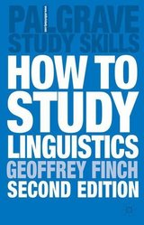 How to Study Linguistics ISBN: 9781403901064